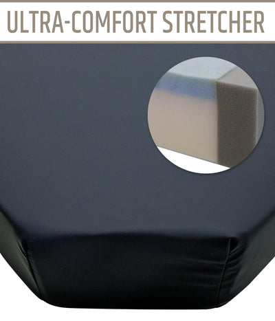 Hausted Ultra-Comfort or Standard Converge II Stretcher Pad (Models 472 & 472-UC)
