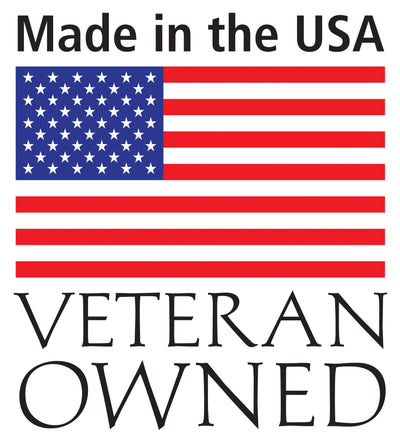 Made in the USA, Veteran Owned, Awarded 2018 Gold Hire Vets Medallion Program