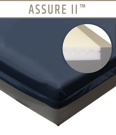 Assure II General Patient and ICU/CCU Hospital Bed Mattress