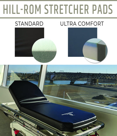 Stretcher Pad, Hill-Rom DuraStar Fixed Height Standard or Ultra Comfort (Models 8035 & 8035-UC)