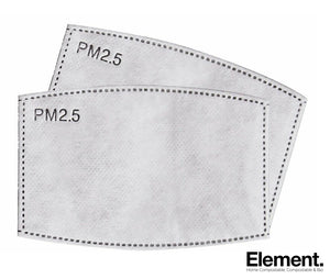 Pm 2.5 Filters Reusable Face Protection