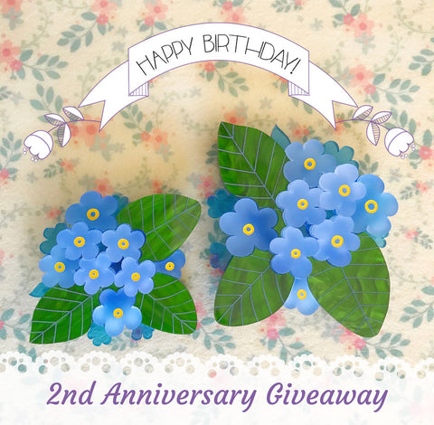 Teacup Girl 2nd Anniversary Giveaway