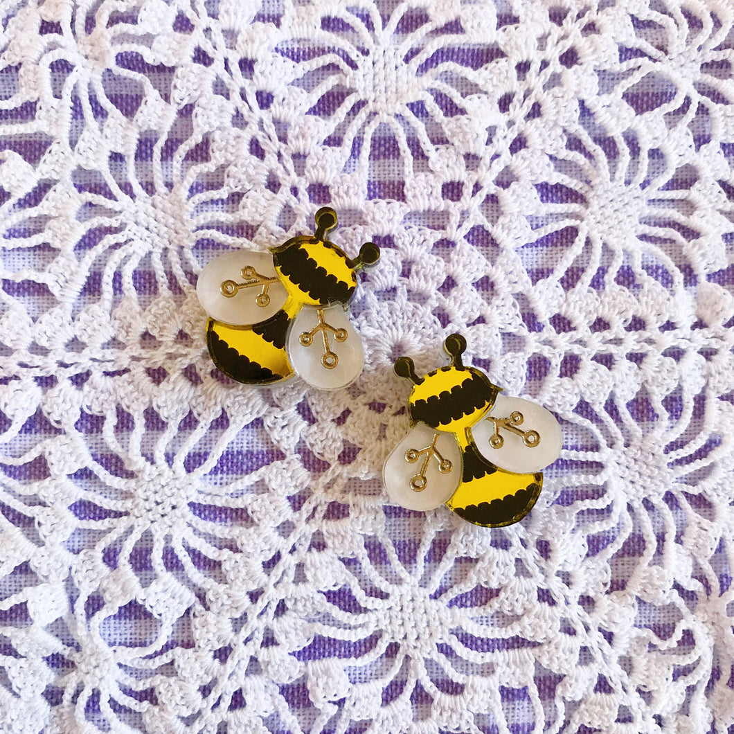 Bee Buddies Earrings Set