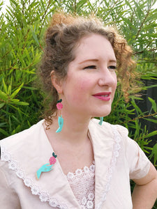 Camellia's Choice Statement Earrings