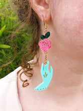 Load image into Gallery viewer, Camellia's Choice Statement Earrings