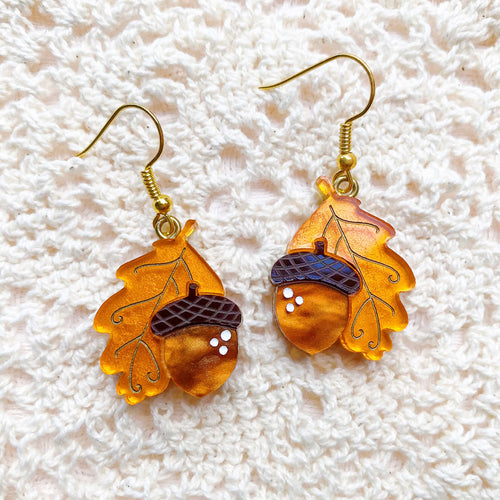 Autumn Days Dangle Earrings Set