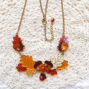 Autumn Days Necklace