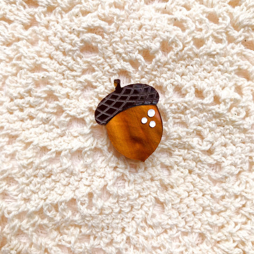 Ode to Acorns Pin
