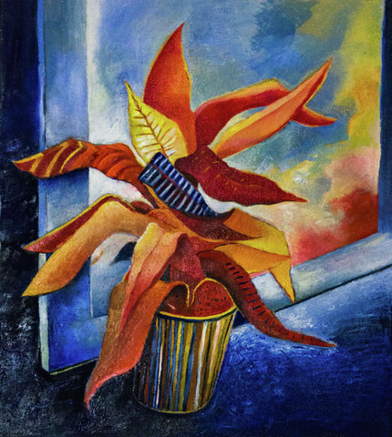 Bromeliad (window)
