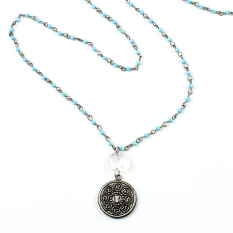 Chakra Necklace-necklace-Jewelry Gypsy Designs