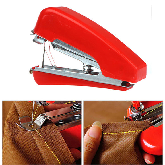 Honana WX-T32 Portable Hand-Held Mini Sewing Machine Clothes Fabric Pocket For DIY Needlework Cordless BUME