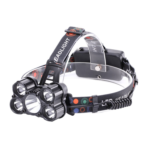 ZQ - X862 4500LM 5x XML - T6 4 Mode Rechargeable Multifunction Headlamp BUME