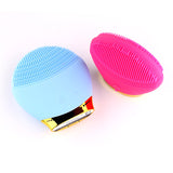 Electric wash brush, silicone cleansing instrument facial cleaning brush BUME