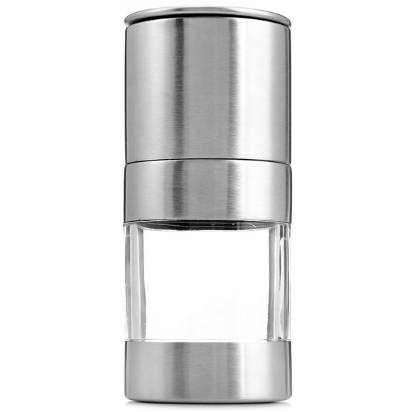 Portable Stainless Steel Manual Salt Pepper Spice Mill Grinder Kitchen Accessaries BUME