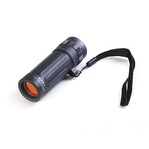 1Pcs Protable Monocular Mini FT Handheld Telescope 8x21 Scope Hiking Hunting Camping Sports BUME