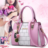 2018 new fashion trend handbag fashion women's bag Europe and America big bag casual shoulder bag BUME