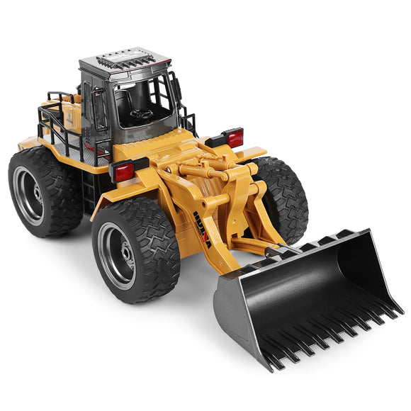 HUINA 1520 1:18 2.4GHz 6CH RC Alloy Truck Construction Vehicle BUME