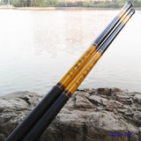 Hot fishing rod dragon carp pole glass steel rod 2.7 to 5.4 high quality - bumestore