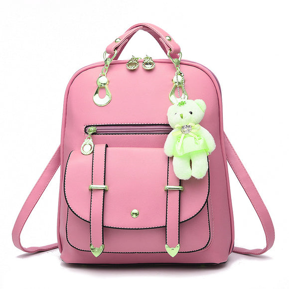 2018 new backpack fashionista new spring and summer students fashion leisure Korean women BUME