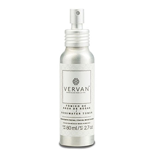 Vervan All Natural Rosewater Face Toner, 2.7 Oz BUME