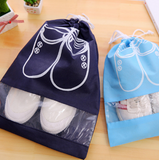 Waterproof Shoes Bag Storage Travel Bag Portable Organizer Cover Non-Woven Laundry - bumestore