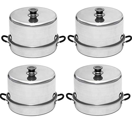 Aluminum Steam Canner with Temperature Indicator by VICTORIO VKP1054 (4-Pack) BUME