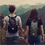 Naturehike NH17A012-B 18L Camping Hiking Backpack Ultralight Waterproof Folding Travel Outdoor Bag BUME