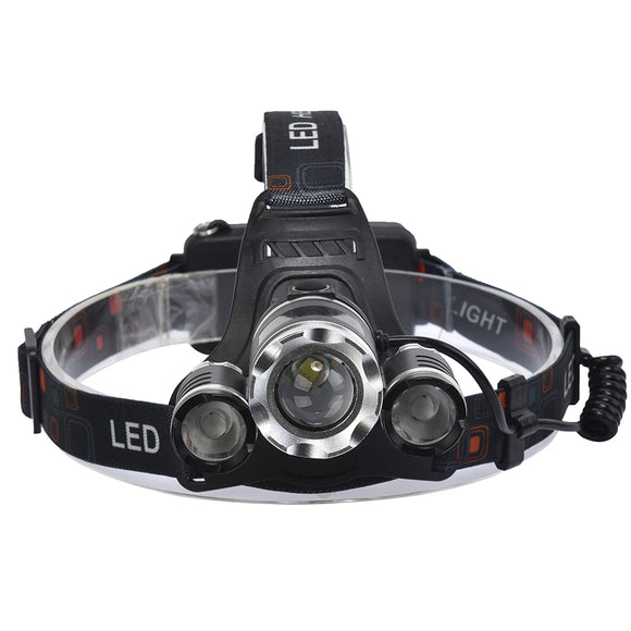 XANES 747 1000 Lumens T6+XPE LED Bicycle Headlight Telescopic Zoom Outdoor Sports HeadLamp 4 Modes BUME