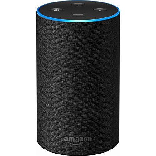 Echo (2nd Generation) - Smart speaker with Alexa - Charcoal Fabric - bumestore