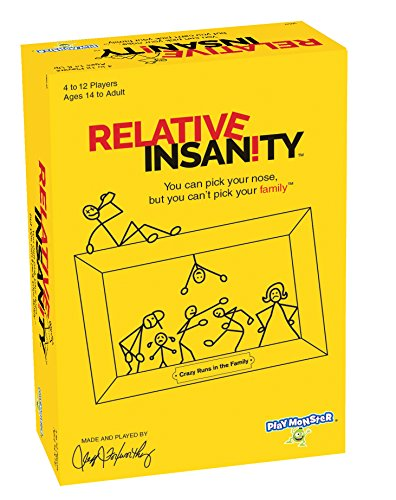 PlayMonster Relative Insanity Party Game BUME