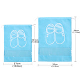 Waterproof Shoes Bag Storage Travel Bag Portable Organizer Cover Non-Woven Laundry BUME