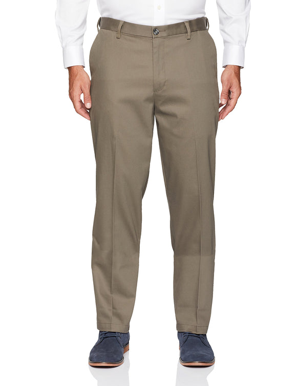 Dockers Men's Relaxed Fit Comfort Khaki Pants D4, - bumestore