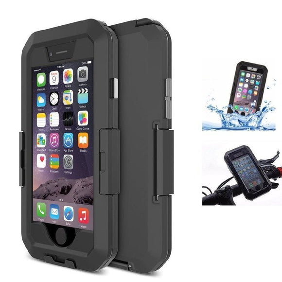 IPX8 Waterproof Pouch Bag Case Cover Bicycle PhonE-mount Holder For iPhone 6 6s 4.7 Inch BUME
