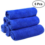 5pcs Premium Ultra Fine Microfiber Towel Cleaning Cloth for Kitchen Dirt Cleaning BUME