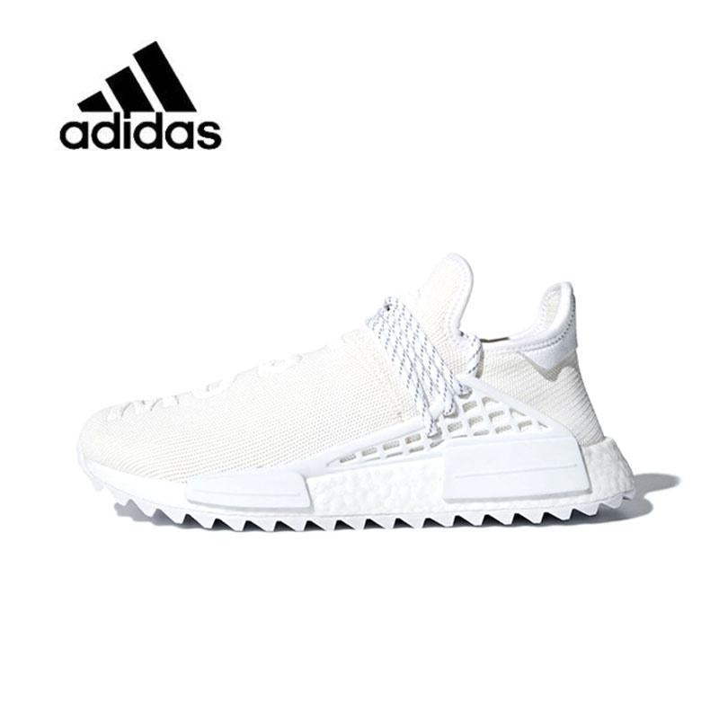 official photos a3c97 8a14b Adidas Pharrell X Adidas Hu NMD Trail Blank Canvas