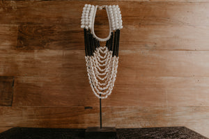 Collier coquillages et perles