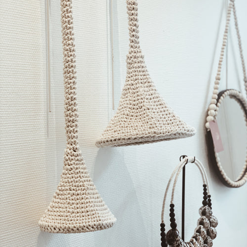 Suspension macramé