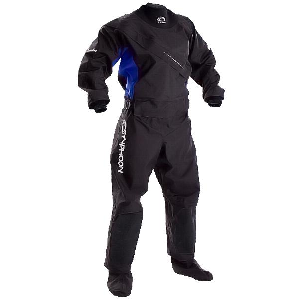 Typhoon Ezeedon III 2017 Ladies Front Zip Drysuit with Sox