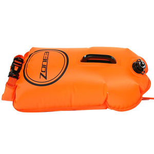 Zone3 Swim Safety Buoy Dry Bag 28L | Orange