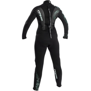 Typhoon Storm TFlex 3mm Women's Steamer Wetsuit | Back