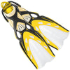 Mares X-Stream Scuba Diving Fins | With Bungee Strap | Yellow