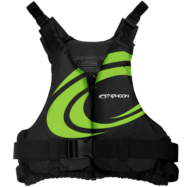 Typhoon Junior Yalu 50N Buoyancy Aid | Green