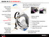 Mares Sea Vu Dry+ Snorkelling Mask, Full Face | Main Features