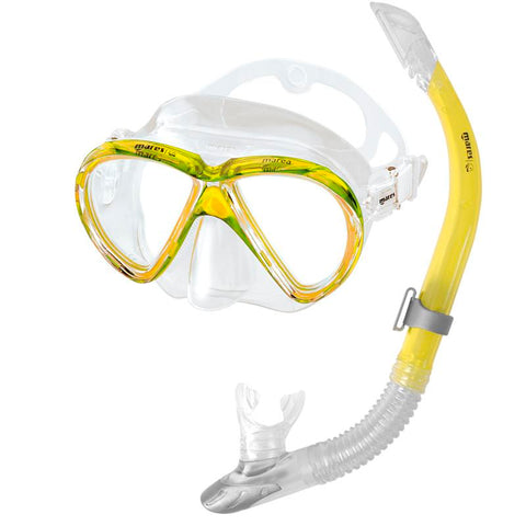 Mares Marea Mask and Snorkel Set | Yellow