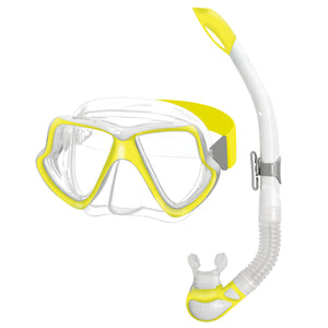 Mares Wahoo Mask & Snorkel Set Neon Yellow