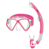Mares Pirate Mask & Snorkel Set for Kids, Neon Pink