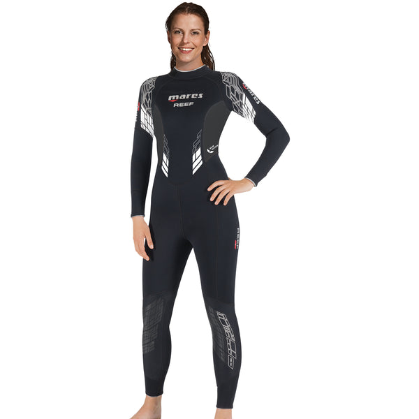 Mares Reef 3mm Wetsuit She Dives Wetsuit Grey Sides