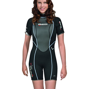 Mares Reef Ladies Shortie Wetsuits | Front