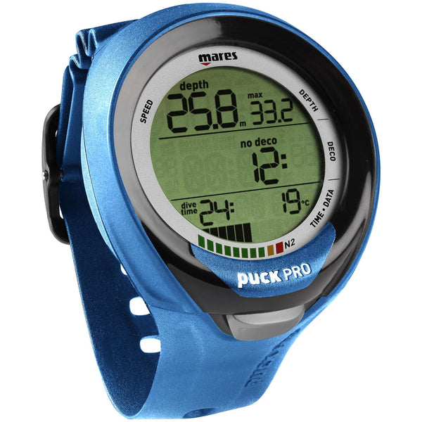 Mares Puck Pro Plus Dive Computer | Blue