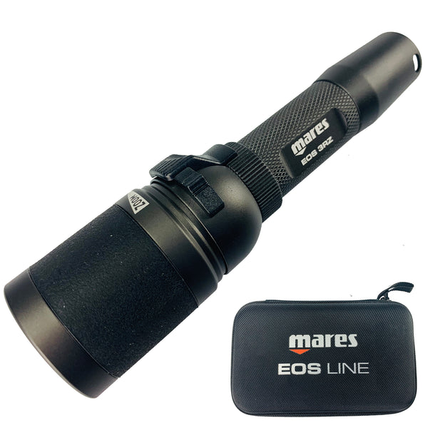 Mares Eos 3RZ Torch Rechargeable | With Case